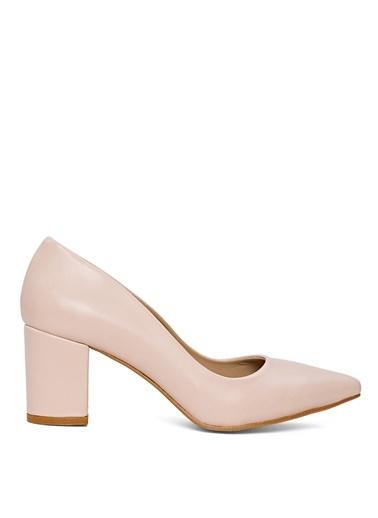 Sole Sisters Topuklu Ayakkabı Natürel - Herden Ten